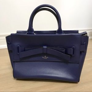 Kate Spade blue leather purse/bag
